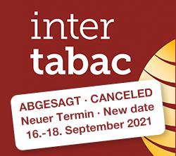 Heinz Tröber ist auf der Intertabac in Dortmund